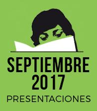 Septiembre de 2017: presentaciones