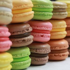 Macarons de París y más.